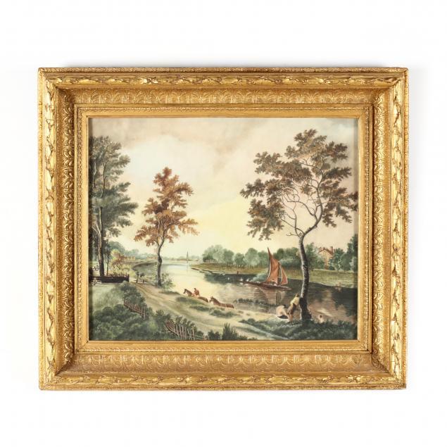 an-antique-folky-riverscape