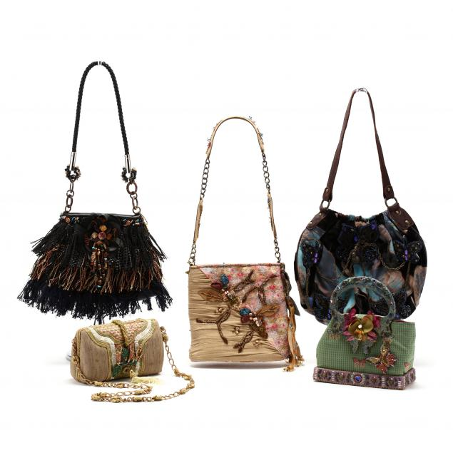 five-vintage-mary-frances-handbags