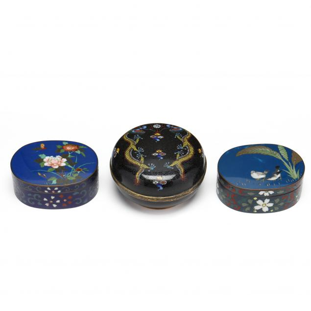 three-chinese-cloisonne-boxes