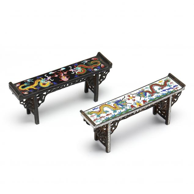 two-chinese-diminutive-cloisonne-altar-tables