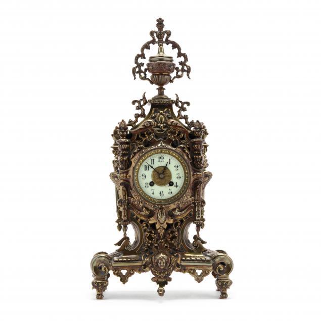 louis-xv-style-gilt-mantel-clock-a-d-mougin