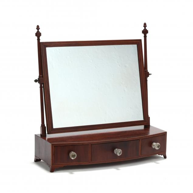 federal-inlaid-mahogany-dressing-mirror