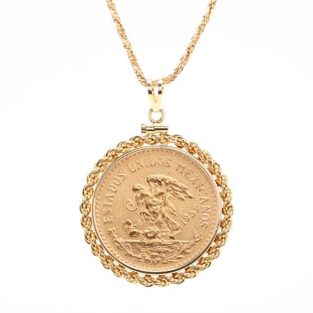 mexican-coin-pendant-necklace