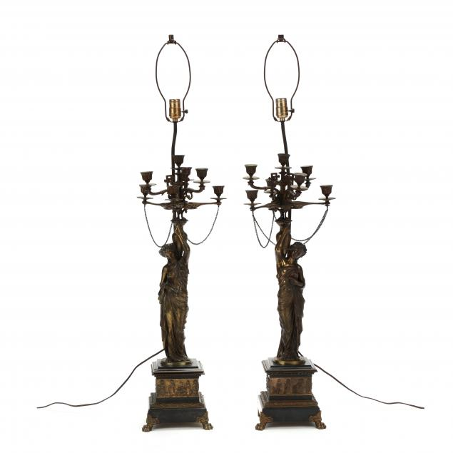 pair-of-antique-neoclassical-style-gilt-bronze-candelabra-lamps