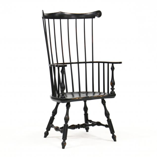 wallace-nutting-painted-windsor-armchair
