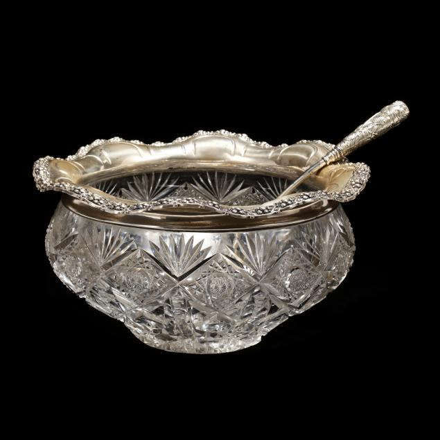 gorham-sterling-silver-cut-glass-punch-bowl-with-ladle