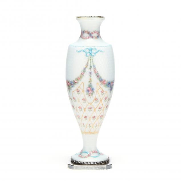 an-antique-french-guilloche-enameled-vase