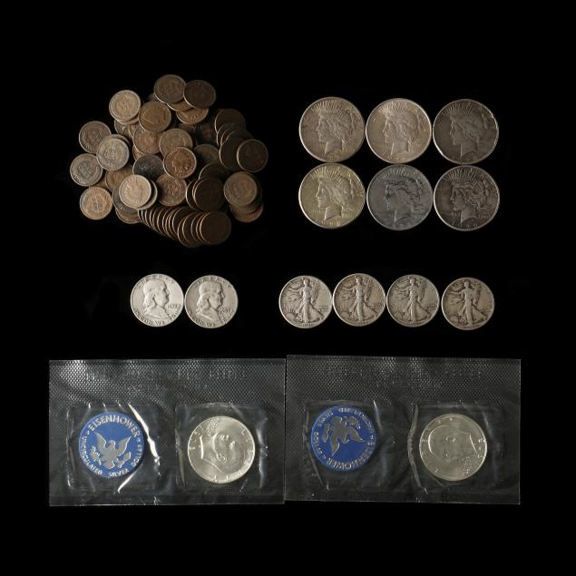97-indian-cents-and-mixed-silver-coins