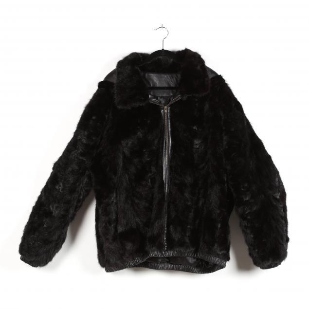 gent-s-black-mink-bomber-jacket-with-hood