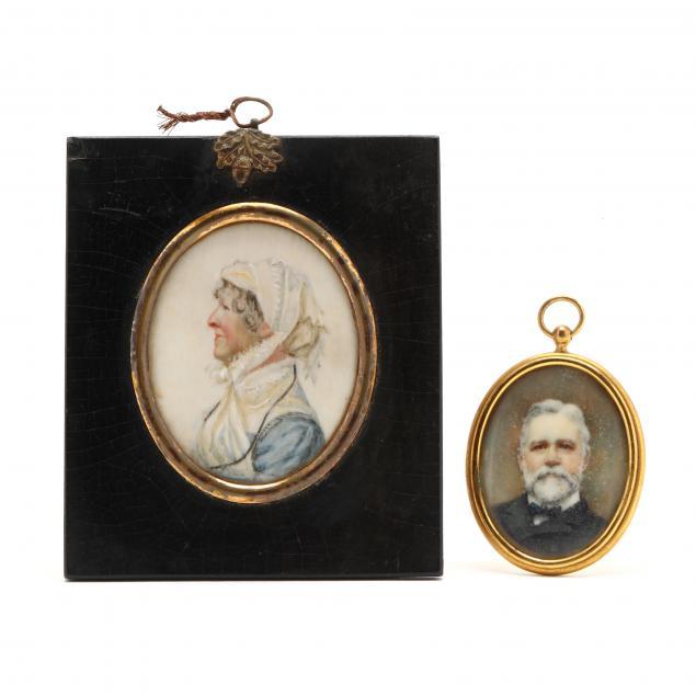 two-antique-portrait-miniatures