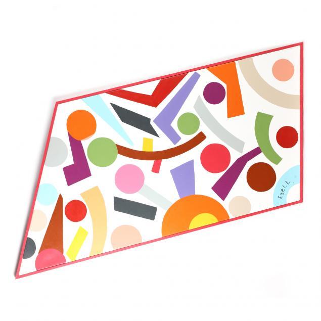 sam-ezell-nc-rhombic-hard-edge-painting