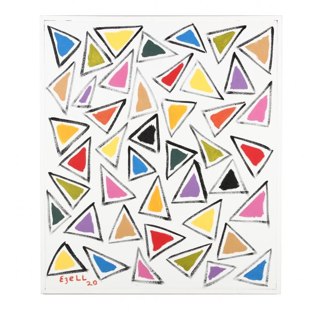sam-ezell-nc-colorful-triangle-painting