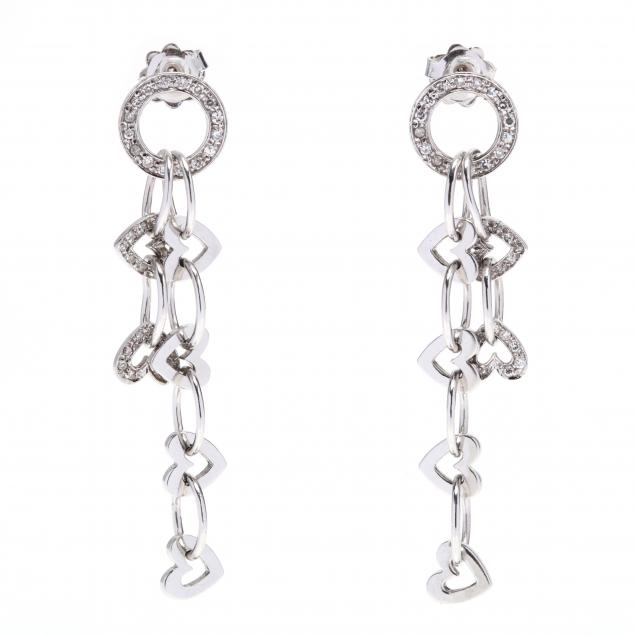 white-gold-and-diamond-dangle-earrings