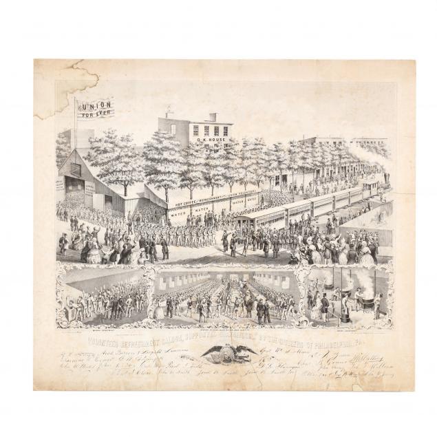 civil-war-lithograph-promoting-union-soldier-relief-campaign