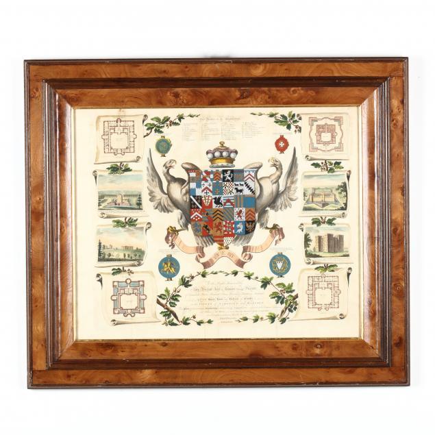 mowbray-herald-joseph-edmonson-s-engraving-of-the-yvery-arms