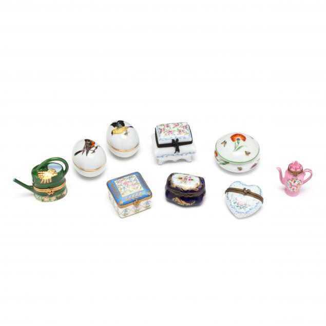 nine-handpainted-limoges-pill-boxes