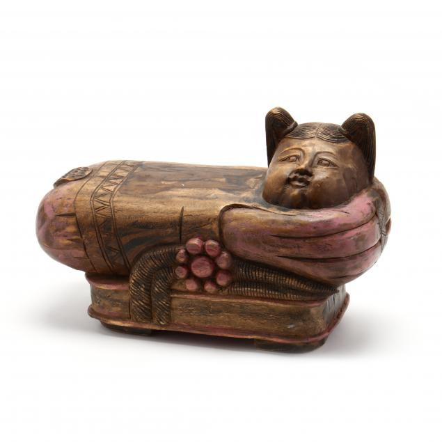 a-chinese-carved-and-painted-foot-stool
