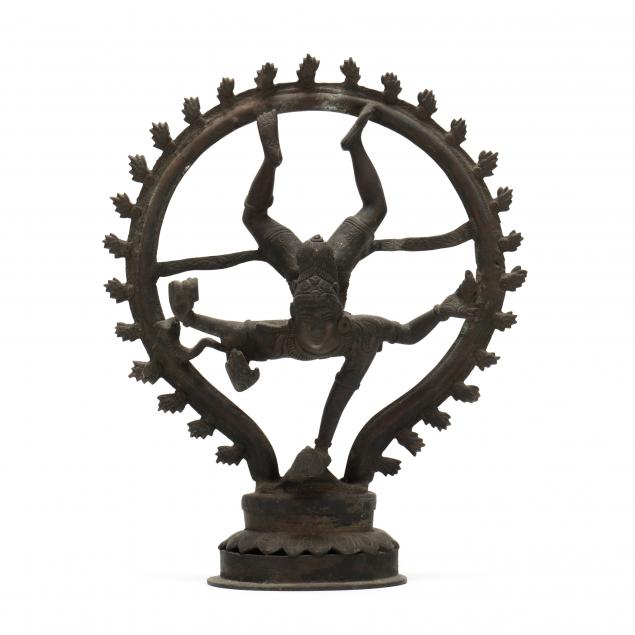 an-indian-bronze-sculpture-of-shiva-bringing-the-goddess-ganga-to-earth