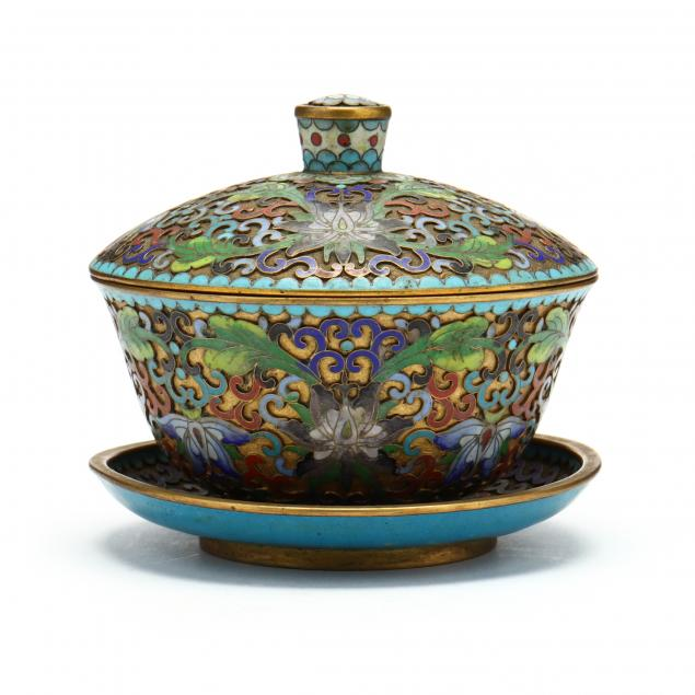 a-chinese-champleve-bowl-with-cover-and-saucer
