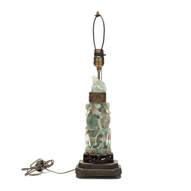 a-chinese-green-carved-hardstone-lamp