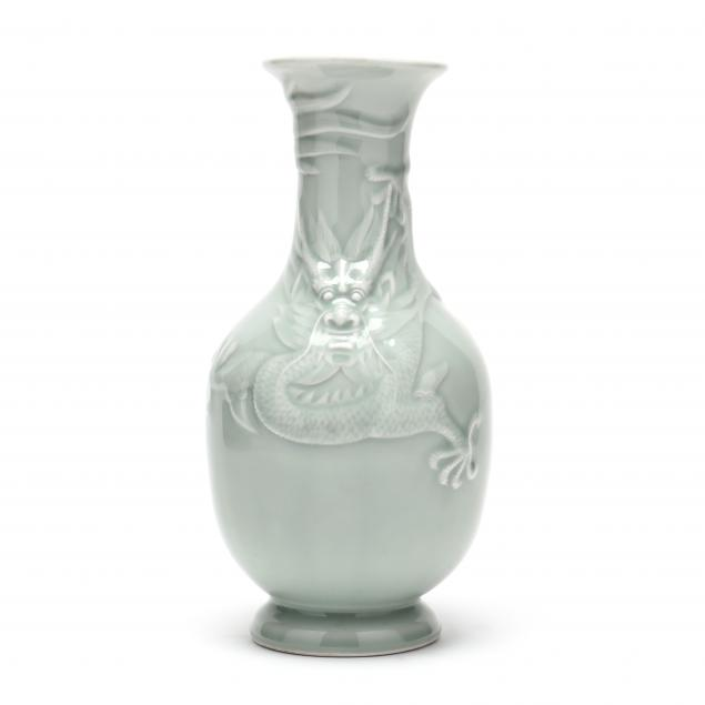 a-chinese-celadon-porcelain-vase-with-dragon