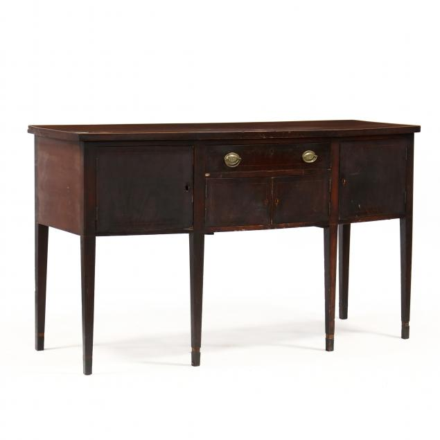 southern-federal-bow-front-inlaid-mahogany-sideboard