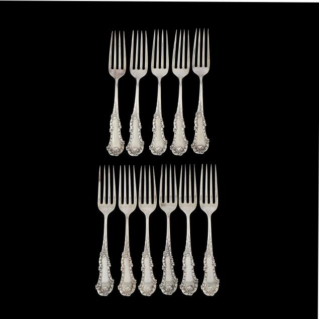 set-of-11-frank-m-whiting-george-iii-sterling-silver-luncheon-forks