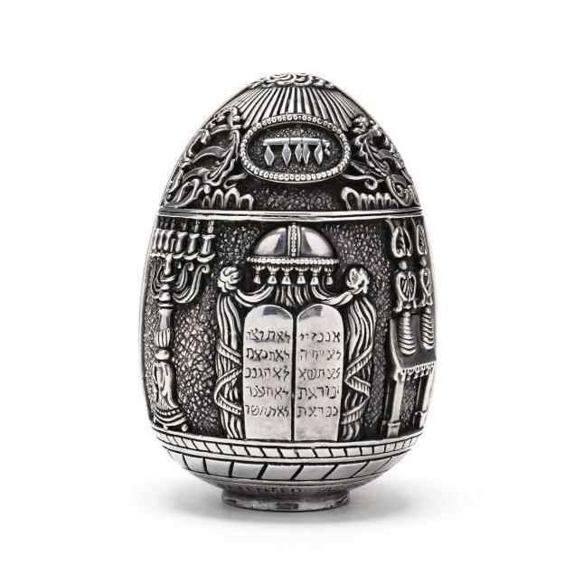 a-greek-999-fine-silver-clad-judaica-egg