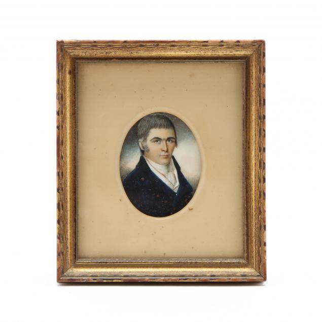 antique-portrait-miniature-of-a-gentleman