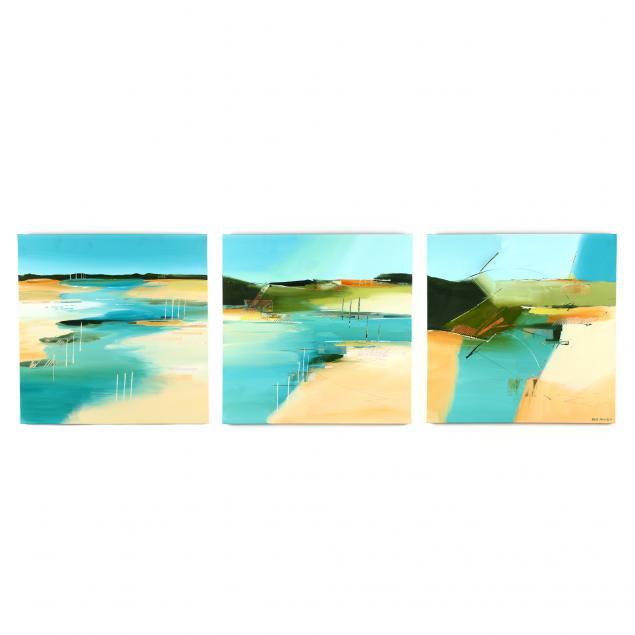 bob-rankin-nc-i-metamorphosis-tidal-pools-i-triptych