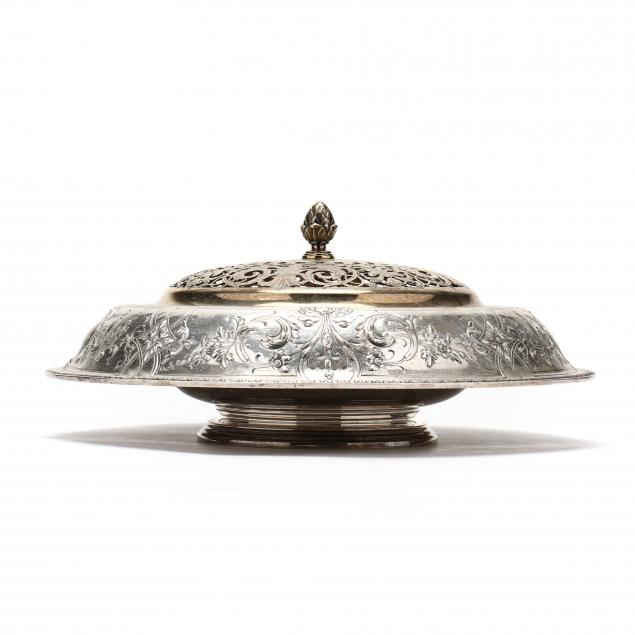 international-charmont-sterling-silver-centerpiece-with-silverplate-frog