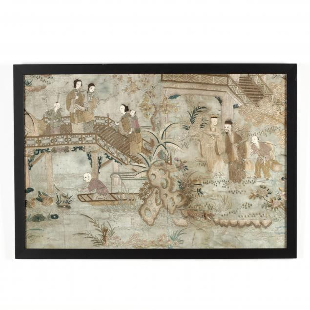 a-chinese-embroidered-panel-with-figures-in-landscape