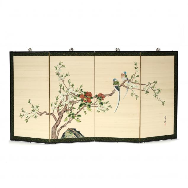 a-chinese-bird-and-flower-folding-screen