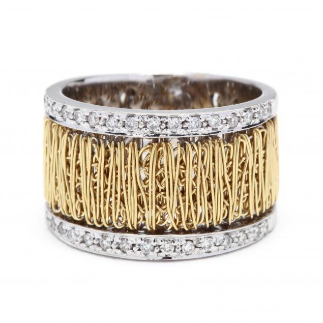 18kt-bi-color-gold-and-diamond-band