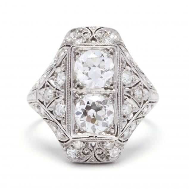 antique-platinum-and-diamond-ring
