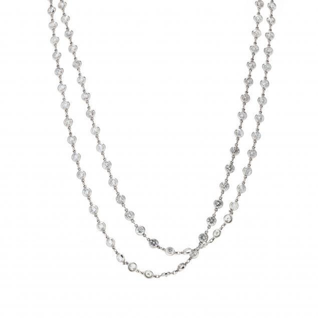 platinum-and-diamond-necklace