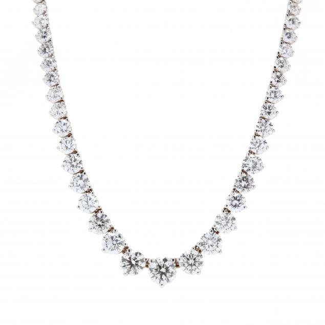 18kt-white-gold-and-diamond-riviere-necklace