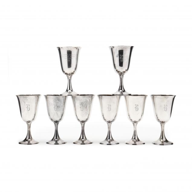 an-assembled-set-of-eight-sterling-silver-goblets