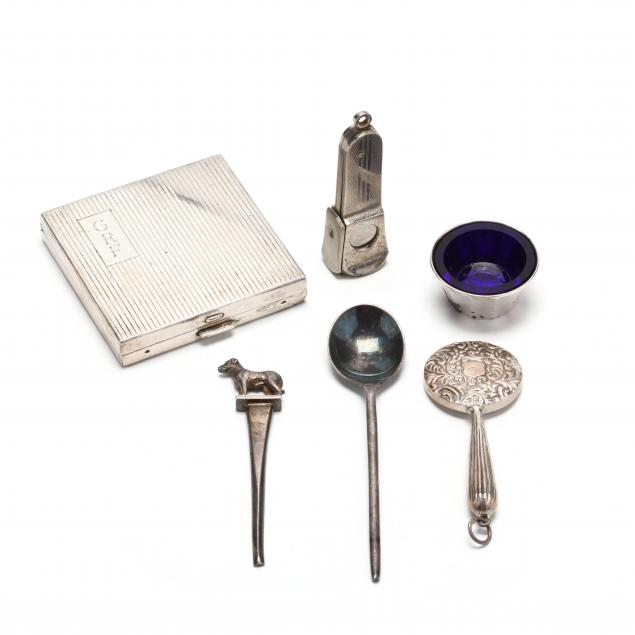 group-of-silver-objects