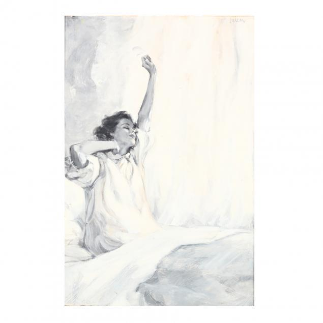 don-neiser-1918-2009-woman-rising-from-bed