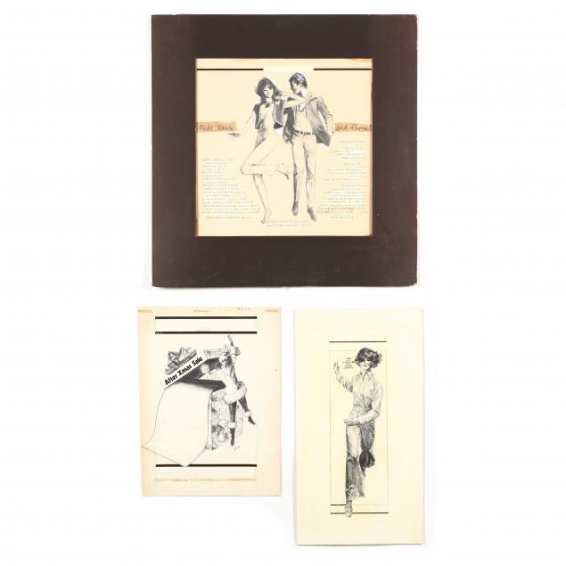 don-neiser-1918-2009-three-fashion-advertisements