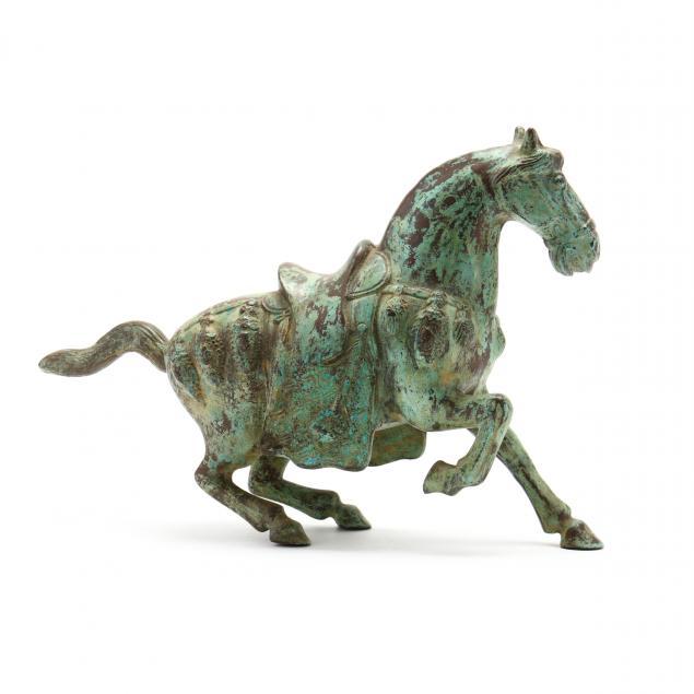 an-asian-bronze-horse-sculpture