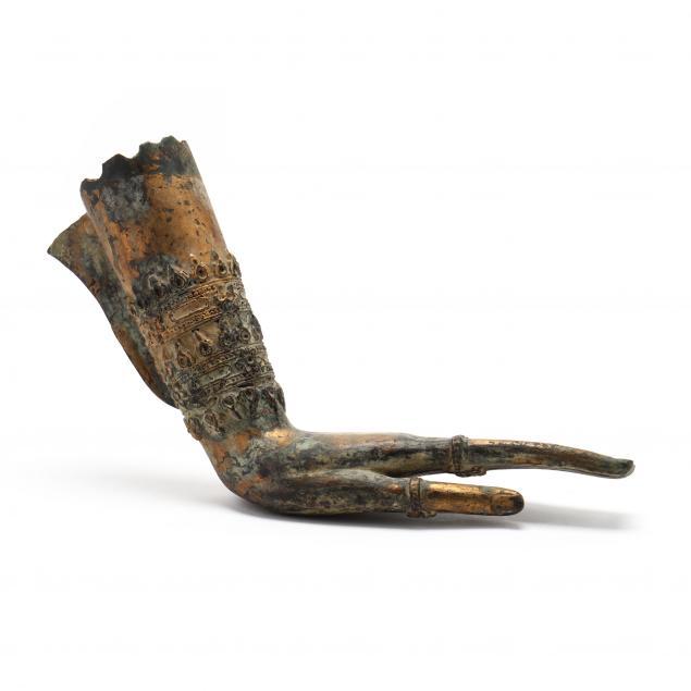a-thai-gilt-bronze-bodhisattva-hand