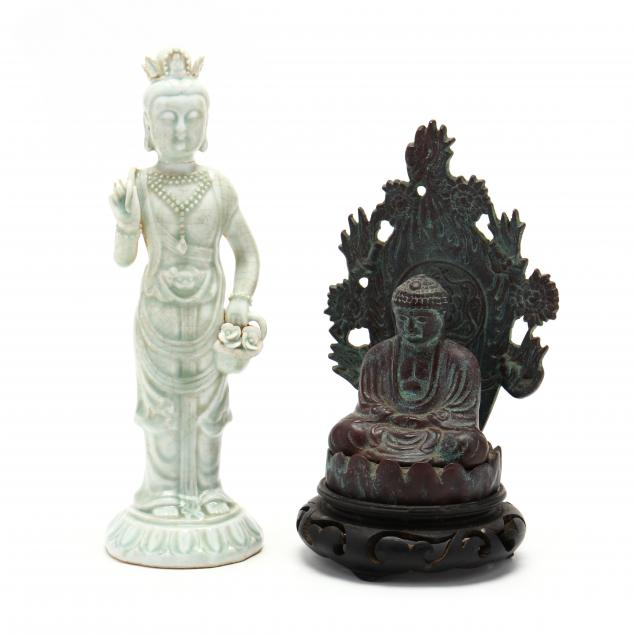 two-buddhist-sculptures