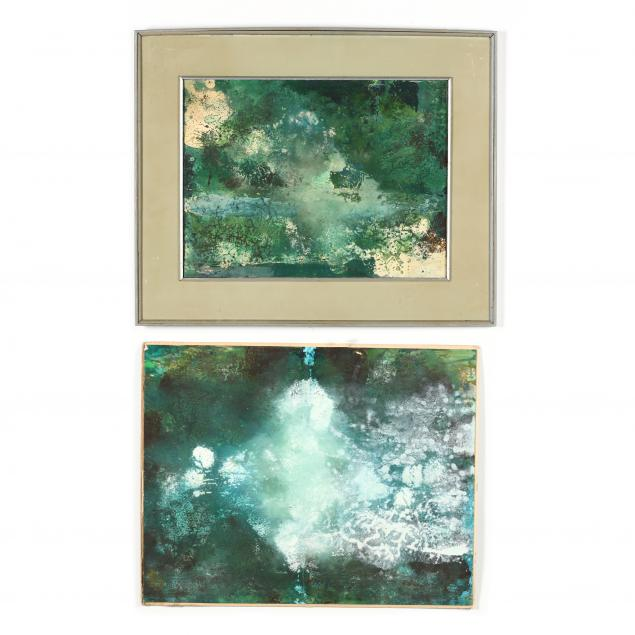 don-neiser-1918-2009-two-abstract-atmospheric-paintings