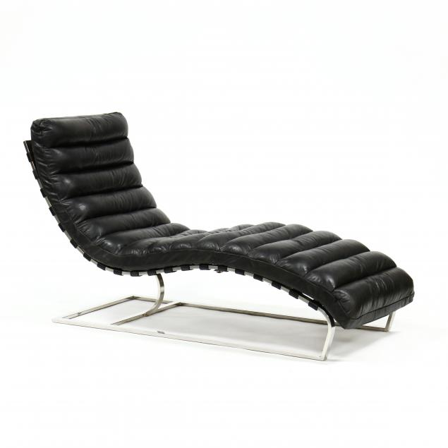 restoration-hardware-oviedo-steel-and-leather-lounge-chair