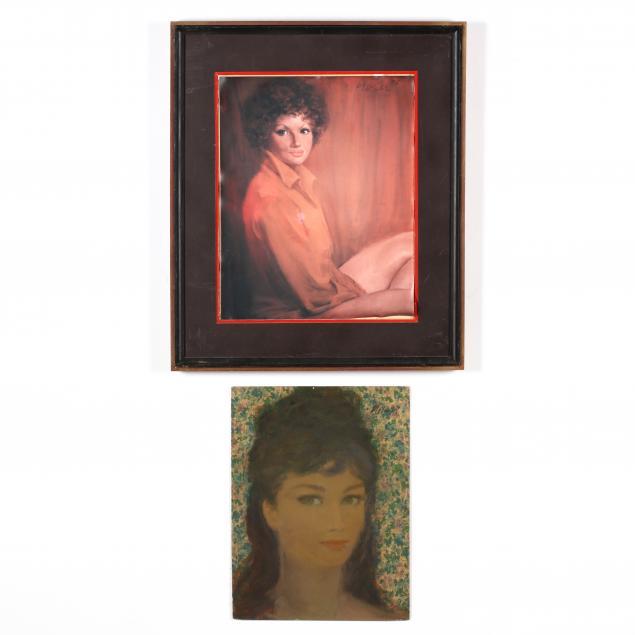 don-neiser-1918-2009-two-female-portraits