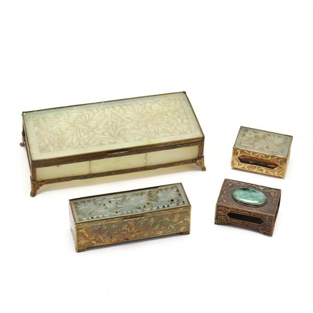 a-group-of-chinese-hardstone-and-brass-boxes