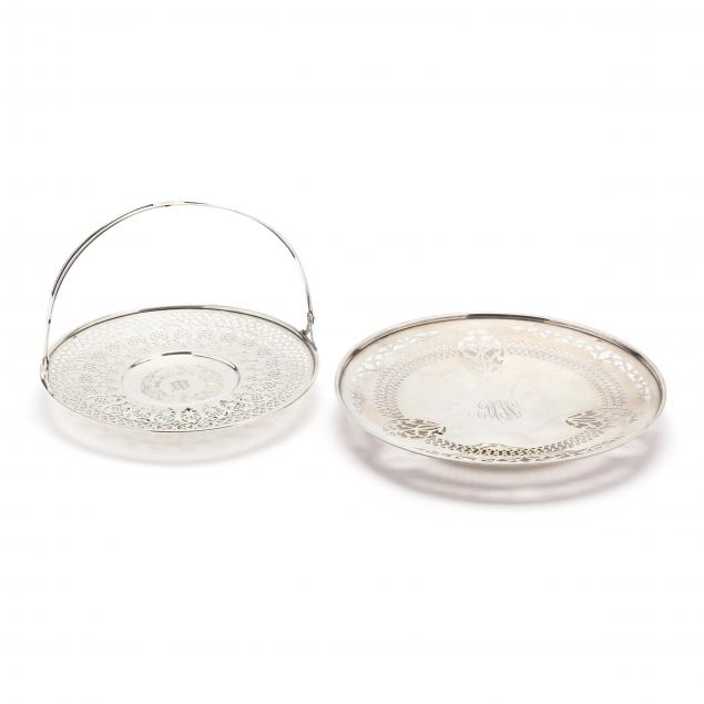 two-sterling-silver-reticulated-cake-plates