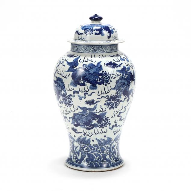 a-chinese-blue-and-white-ming-style-temple-jar-with-cover